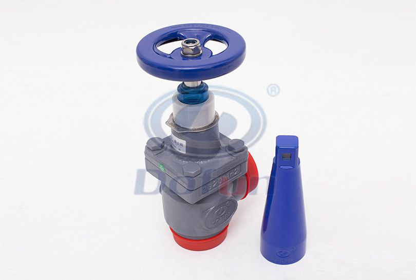 SVD-A Welding Right-Angle Stop Valve