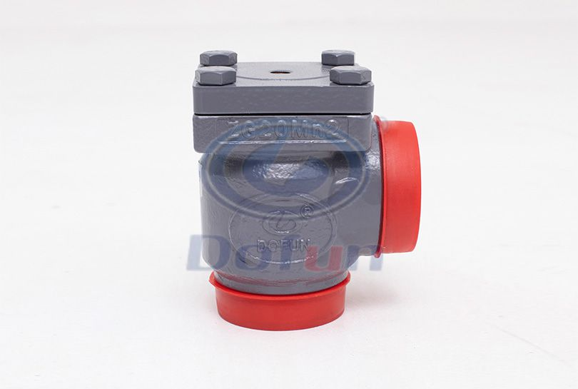 CVD-A Welding Right-Angle Check Valve