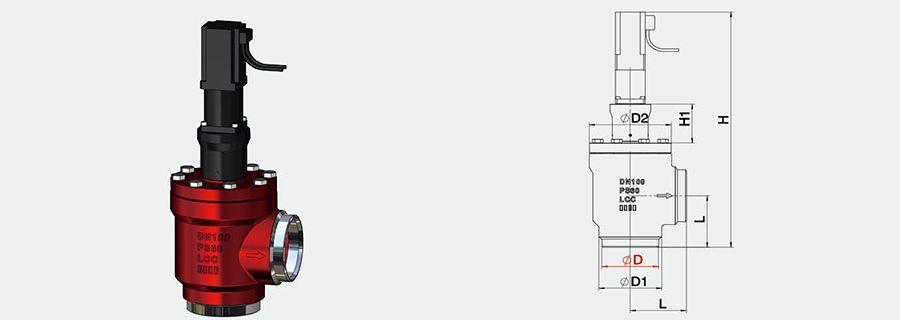 MVD-A Welding Rioht-Anole Motorized Valve